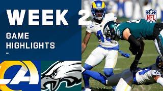 Rams vs. Eagles Week 2 Highlights | NFL 2020