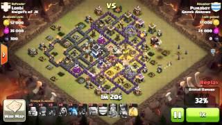 Clash of Clans - War Knights of JK - 3 stars win