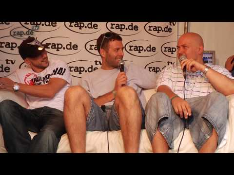 rap.de-TV fast live @ Splash! Festival 2010 #03 Snaga und Pillath im Interview
