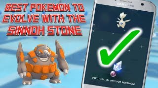 Sinnoh Stone: Best Pokemon To Evolve In Pokemon Go!