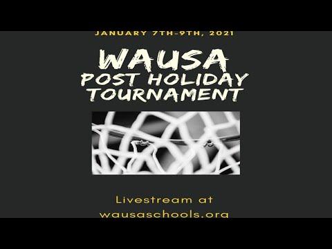 2021 Wausa Post Holiday Tournament: Lutheran High Northeast vs. Osmond