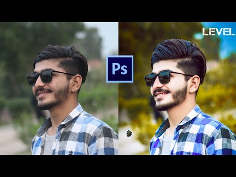 Photoshop tutorial    get realistic effect in photo background color and make awesome thumbnail