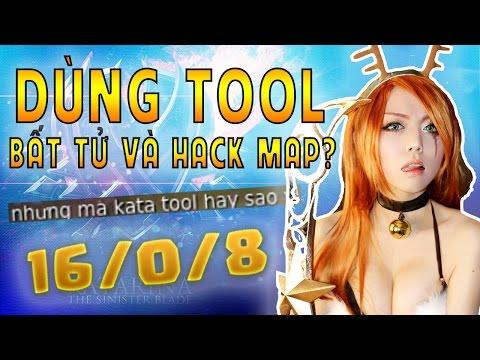 SỰ THẬT TOOL HACK MAP & BẤT TỬ CÙNG OOPS CLUB (LMHT: CÙNG CHƠI KATARINA - TẬP 7) - Just.Mindhack