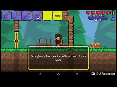Terraria Gameplay   Free Trial   Building games