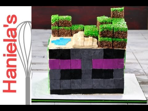 Minecraft Enderman Cake Recipe 11 Recipe 123