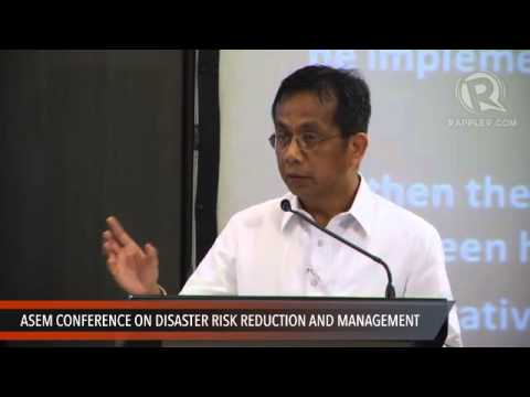 ASEM conference: Speech by Arsenio Balisacan