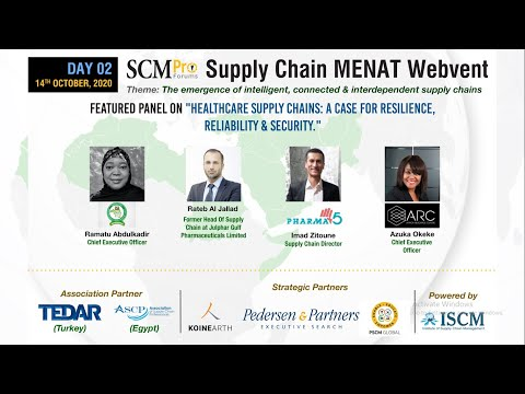 """Healthcare Supply Chains: A Case For Resilience, Reliability & Security."" 