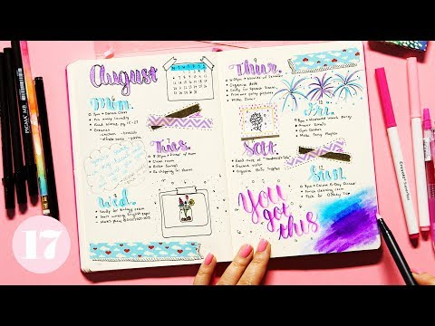 Quick Tips For Pretty Pages In Your Bullet Journal | Plan With Me