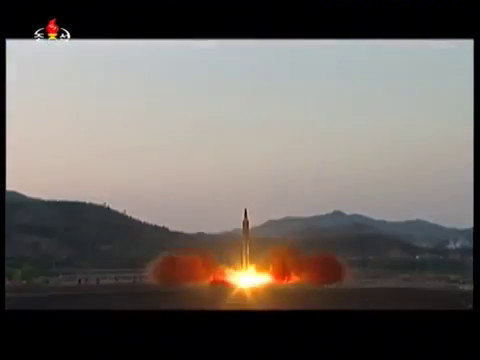 North Korean missile launch (May 14, 2017)