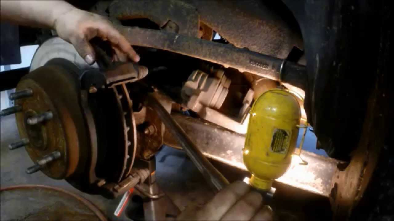 2007 Gmc Envoy >> how to replace gm suv rear brakes and rotors 2000-2007 ...