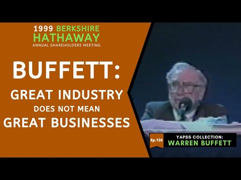 Warren Buffett On AT&T And Communications Industry. | [C:W.B Ep.126]