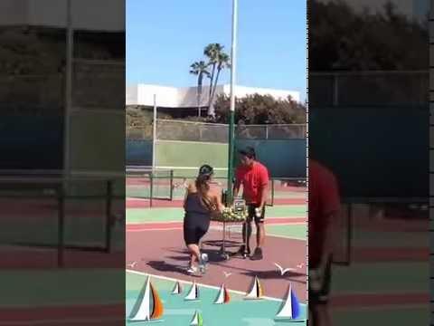 Jaylee Yasunaga - California Tennis School at Newport Beach 2016