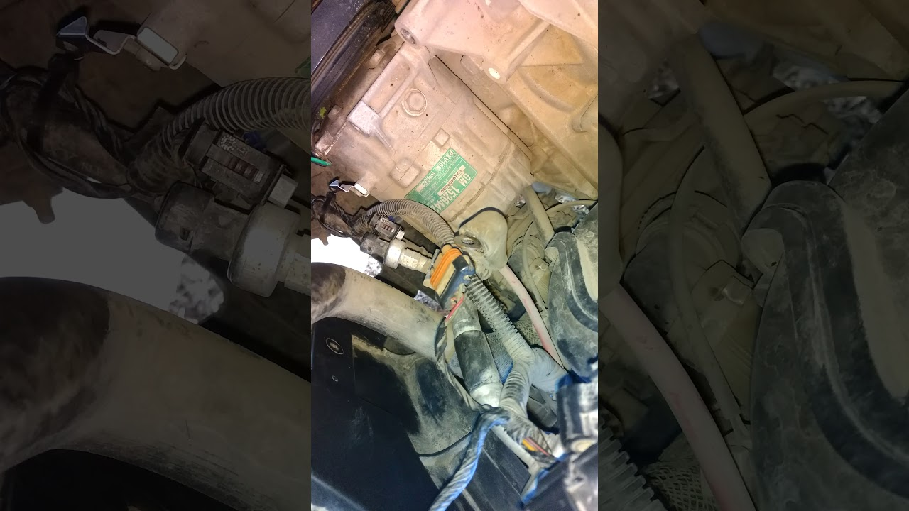 hight resolution of saturn ion ac compressor removal