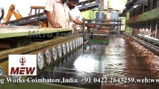 Automatic Clay Brick Making  Machine, Micro Engineering  Works, Coimbatore +91 9894748600