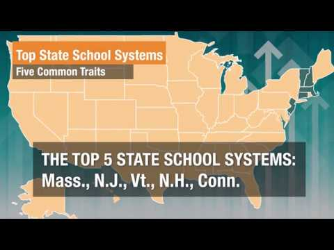 Five Common Traits of Top State School Systems
