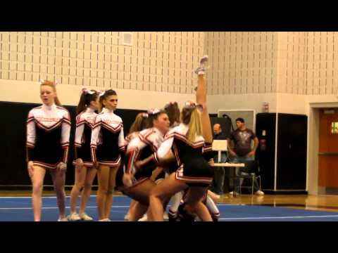 Woburn Highschool Cheerleading 2012