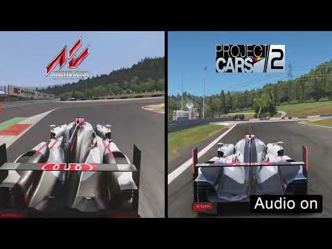 Assetto Corsa VS Project CARS 2 (Audi R18 E-Tron Quattro Comparison)