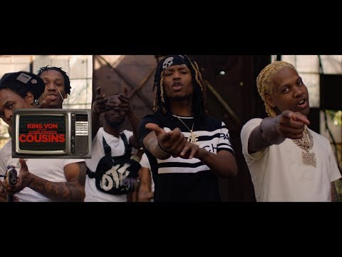 King Von - Cousins ft. JusBlow600 (Official Music Video)
