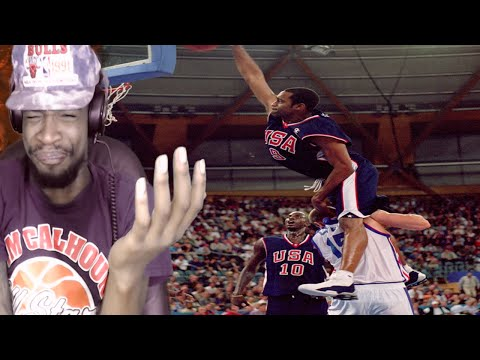 THE BEST DUNKER OF ALL TIME! VINCE CARTER TOP 100 DUNKS REACTION!!