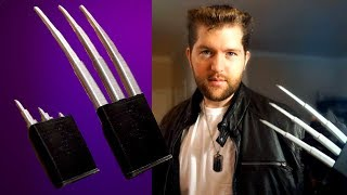 3d printed retractable wolverine claws