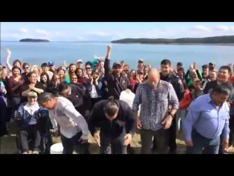 Leonardo DiCaprio ALS Ice Bucket Challenge