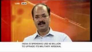 India's defence expenditure v social spending debate-09Oct07