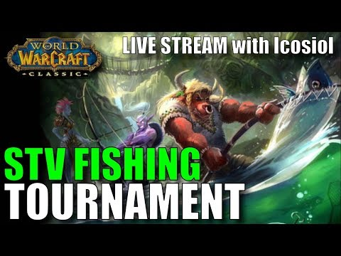 WoW Classic | The STRANGLETHORN FISHING EXTRAVAGANZA! Going For Win #2!
