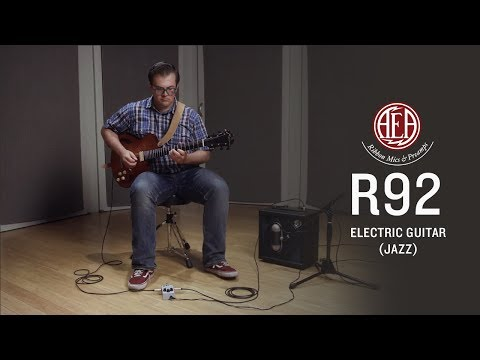 AEA R92 Front - Electric Guitar (jazz) - Listening Library
