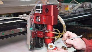 Обзор лазерной головки для резки металлов и неметаллов...(, 2017-11-19T18:35:08.000Z)