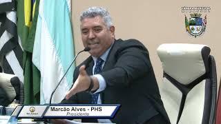 29ª Sessão Ordinária 2019 - Presidente Marcão Alves