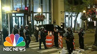 13 Officers Injured, More Than 100 Arrested In Chicago After Police-Involved Shooting | NBC News