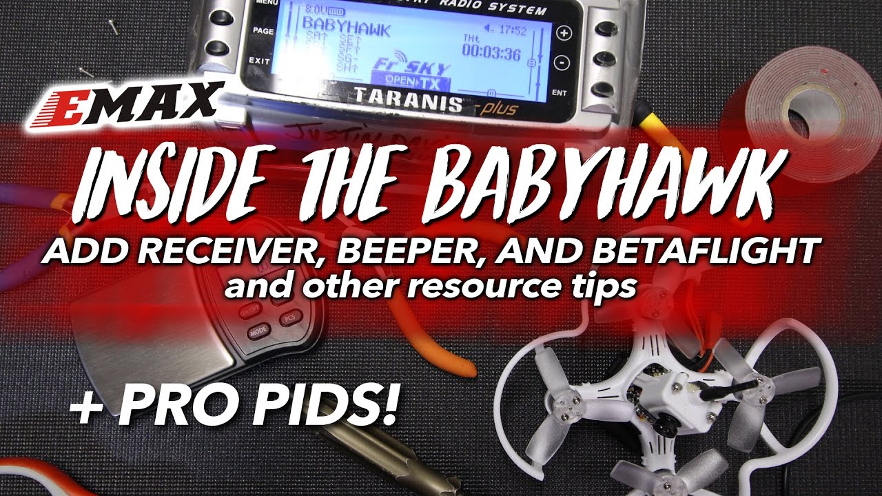 maxresdefault emax babyhawk pro pids, receiver, beeper, & setup youtube Basic Electrical Wiring Diagrams at gsmportal.co