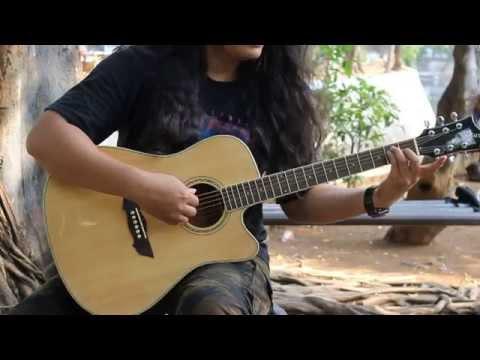 Belajar kunci palang pada gitar akustik sangat mudah | bersama Junaidi Karo Karo