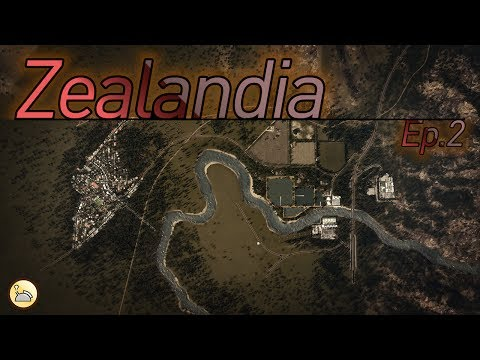 Cities: Skylines - Zealandia [EP.2: Thames Settlement]
