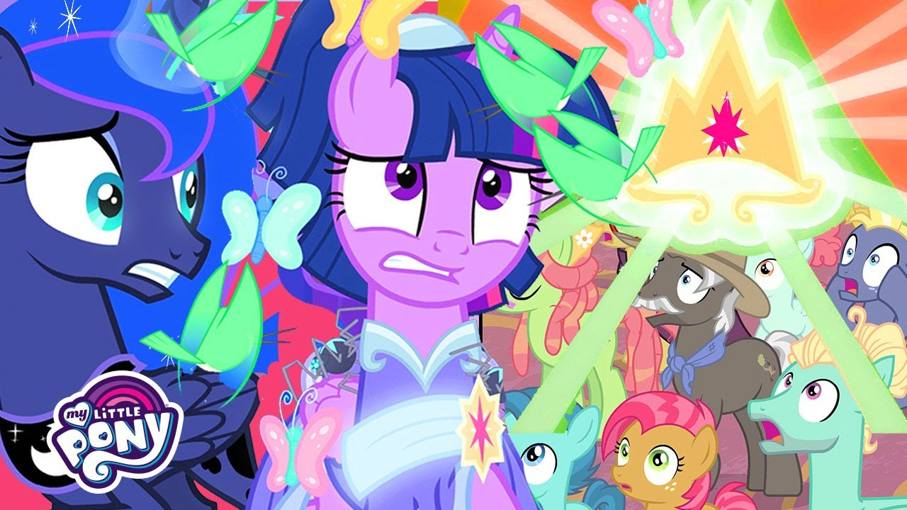 Download My Little Pony | Twilight is Crowned as the New Ruler of Equestria (The Last Problem) | MLP: FiM