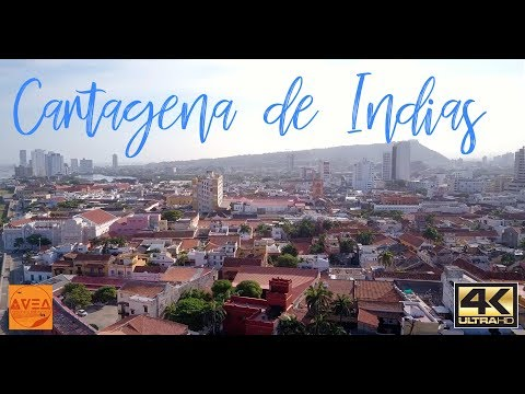 Cartagena de Indias. Short Cinematic Film 4K