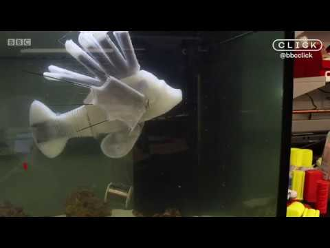 Artificial lionfish powered by 'robotic blood'