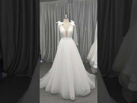 Bridal dress made in China