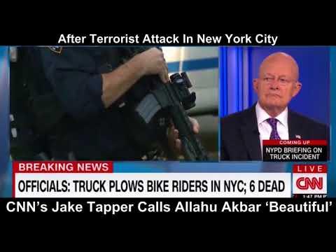 "CNN's finest, Jake Tapper defends ""allahu akbar' as 'beautiful'"