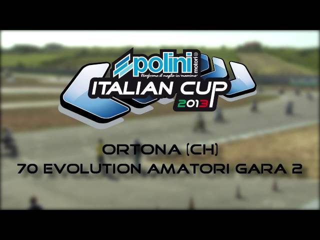 Ortona - Scooter Amatori - Polini Italian Cup 2013