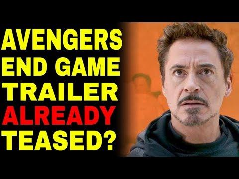 Has The Avengers 4 Endgame Trailer ALREADY Been Teased?