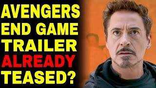 Has The Avengers 4 Trailer ALREADY Been Teased?