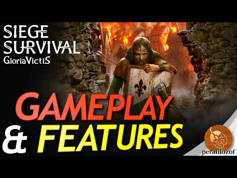 🏹Siege Survival: Gloria Victis medieval Survival strategy & Management game | Gameplay and Features |