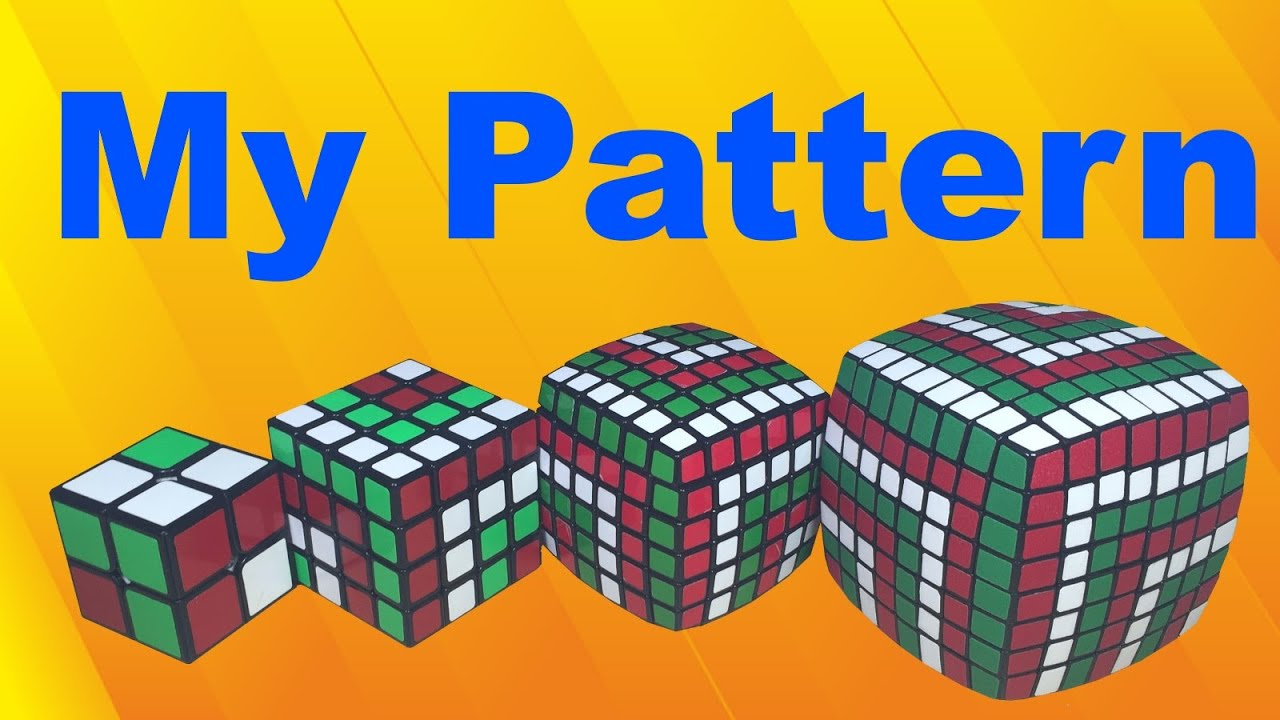 How to Solve a Rubiks 5x5x5 Pattern 1461 Winding Anaconda