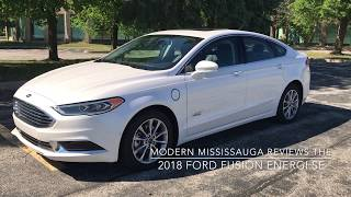 Modern Motoring - Reviewing the 2018 Ford Fusion Energi PHEV