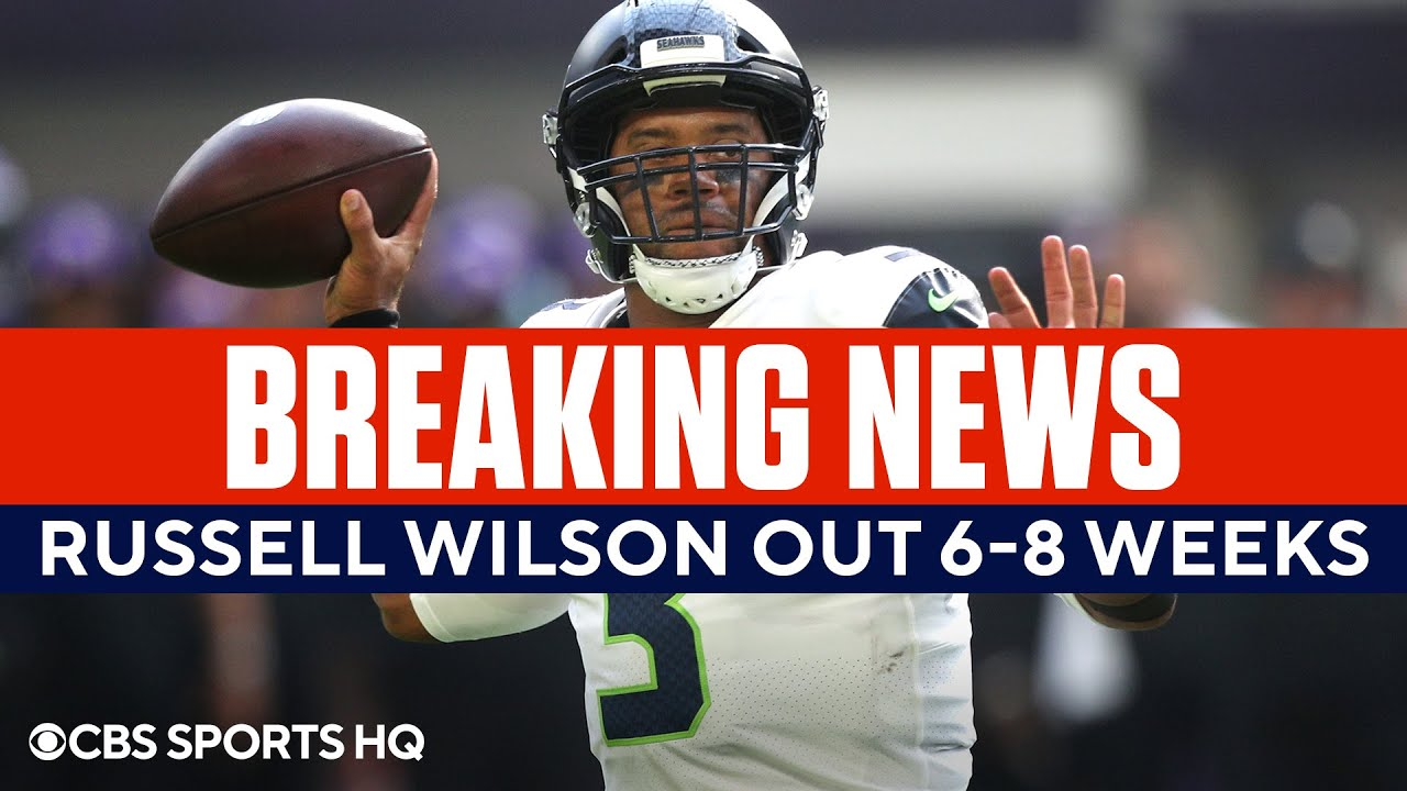 Seahawks QB Russell Wilson out 6-8 weeks with finger injury: Reports