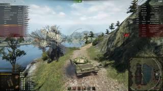 Т-54 полегшений, Ласвилль, Зустрічний бій