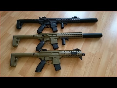 Sig Sauer MPX/MCX 4,5mm CO2 Review / Test deutsch/german
