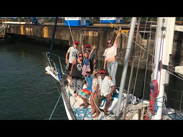 Our Panama Canal Transit on SV Litha ~Life off the deep end Ep 38