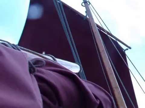 Stirling and Son Clinker Lugger Alert Sailing 2012